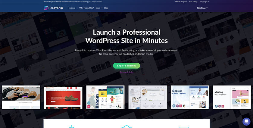 readyship wordpress marketplace