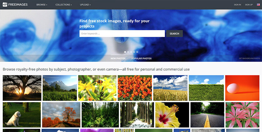 freeimages website