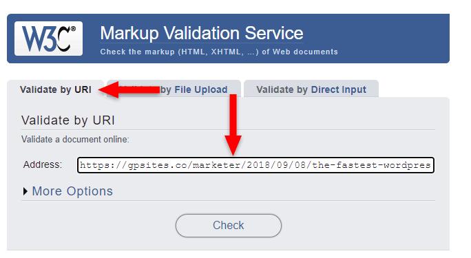 23 markup validation tool