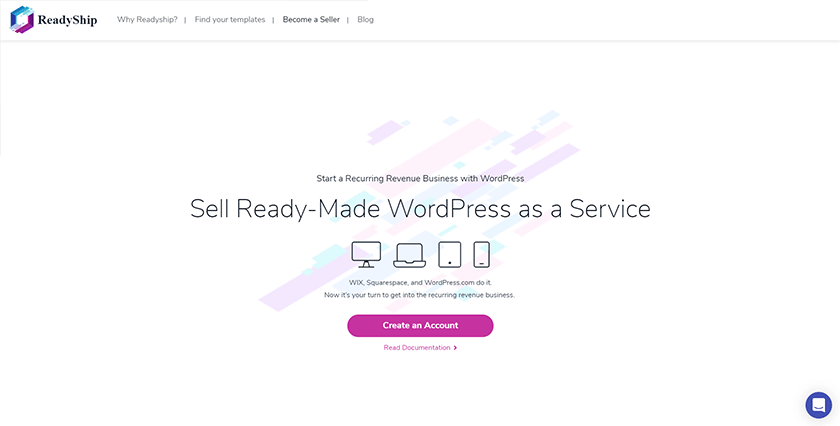 sell ready-made wordpress sites