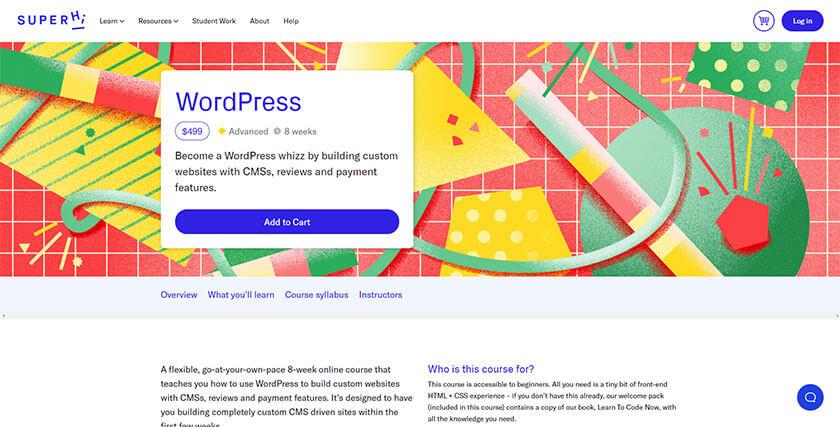 superhi wordpress development
