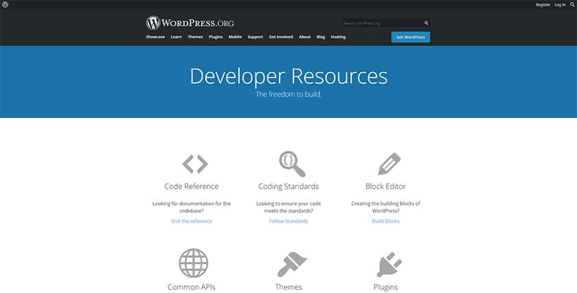 Official WordPress Developer Resources