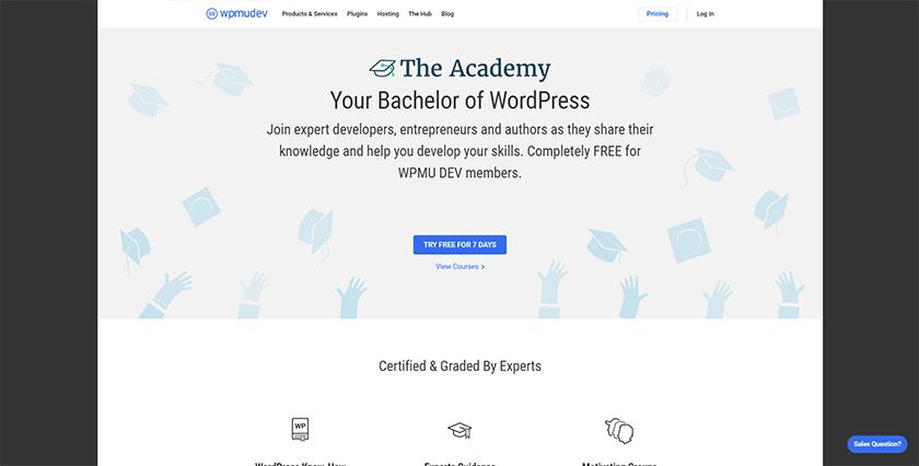 wpmudev wordpress academy